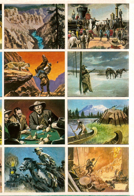 Album di figurine western