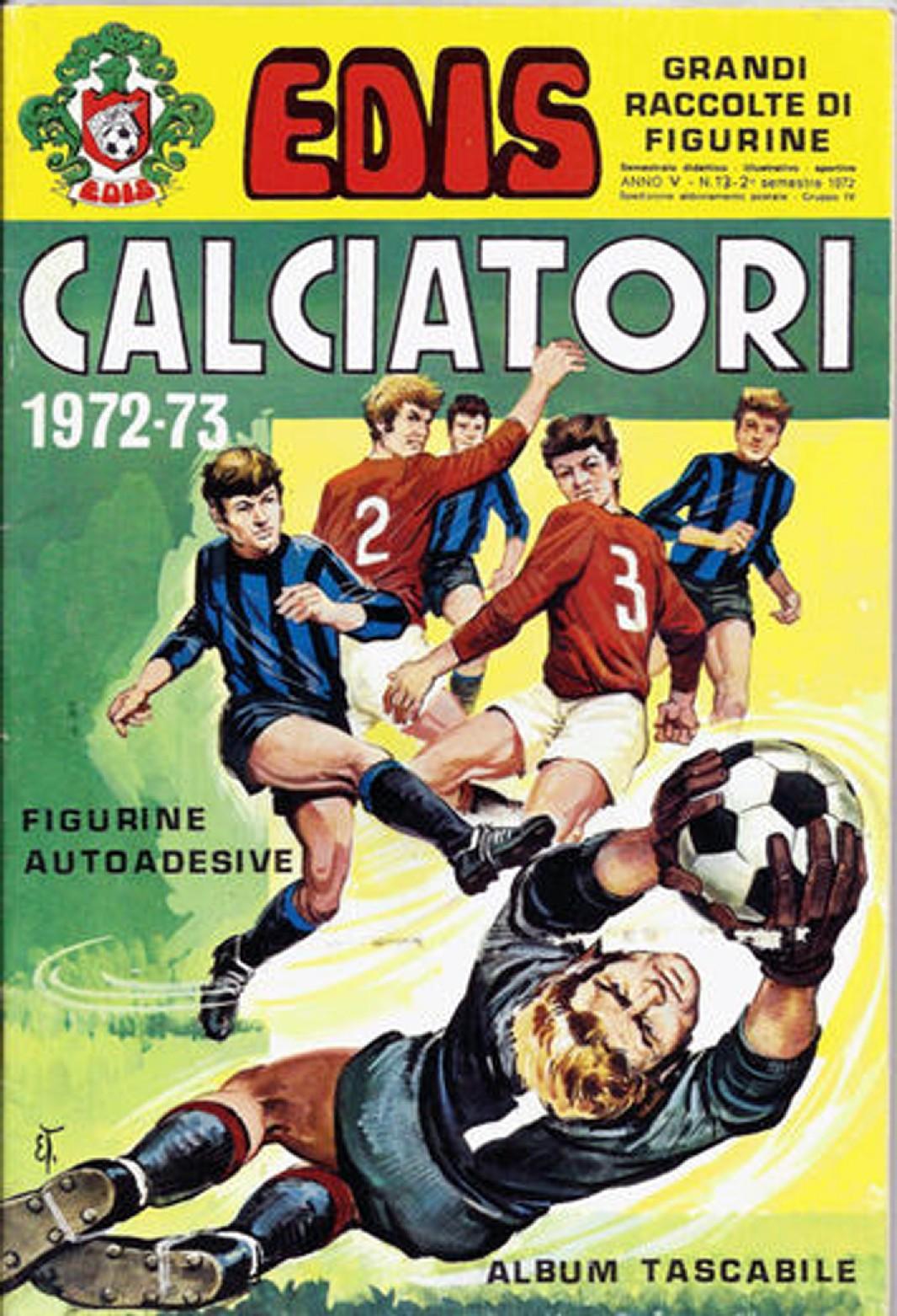 FIGURINA CALCIATORI PANINI 1972//73 NUOVA N.15 SQUADRA TORINO
