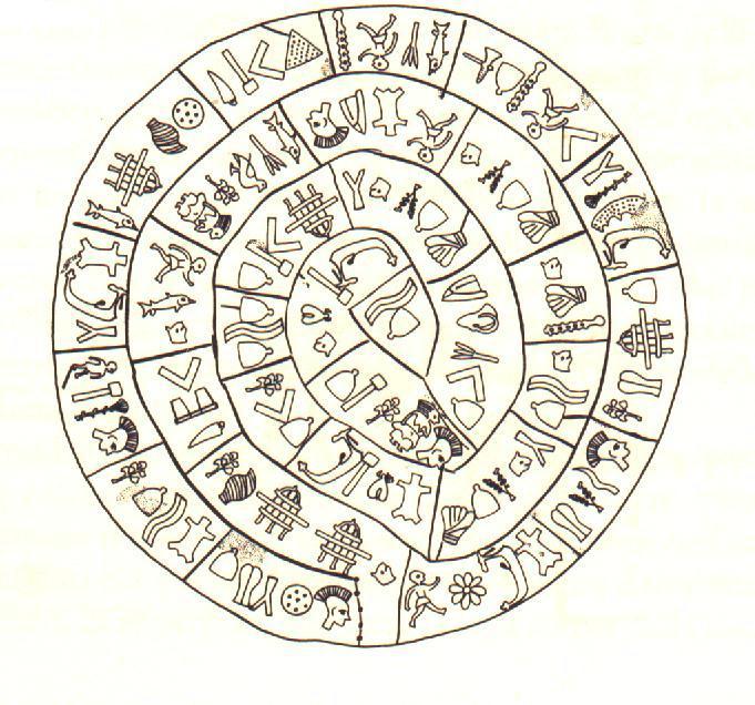 Il Disco Di Festo Un Calendario Vecchio Di 4000 Anni