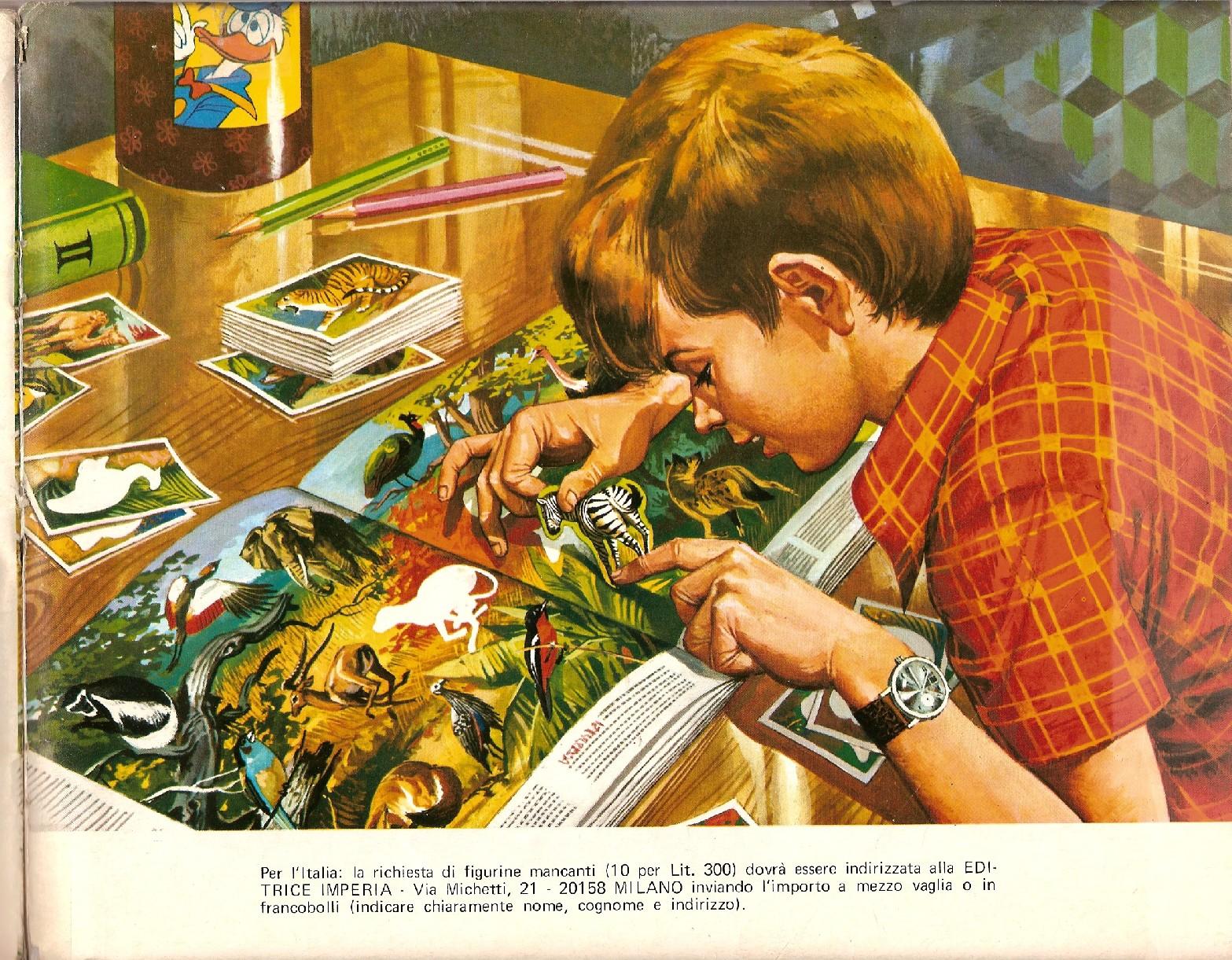 OLYMPIA 1896-1972-PANINI-Figurina n.80-B Riproduzione francobollo Rec
