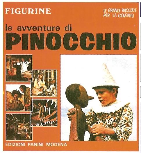 ed PANINI 1972 figurina PINOCCHIO n.240