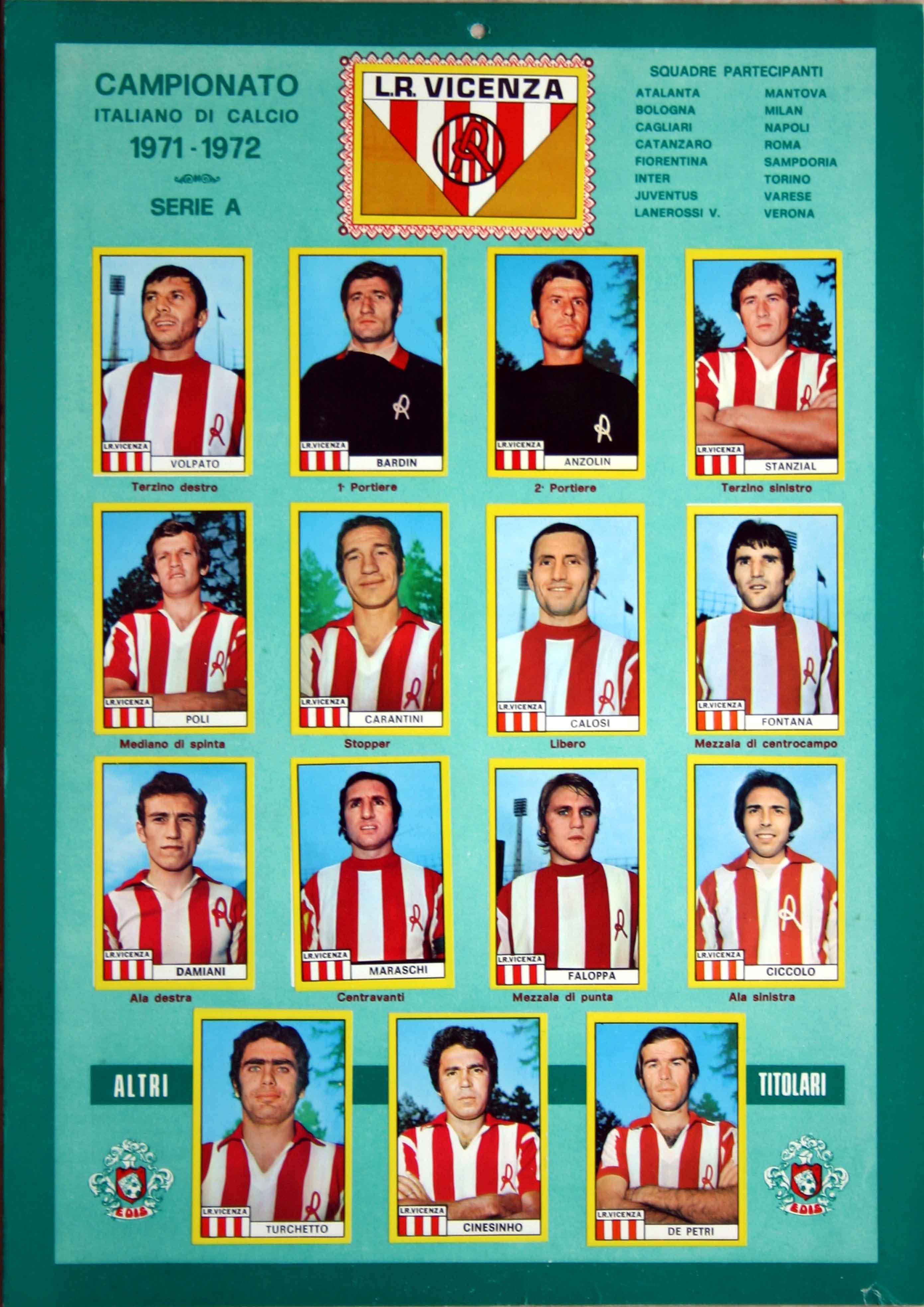 Calciatori EDIS 1971-72