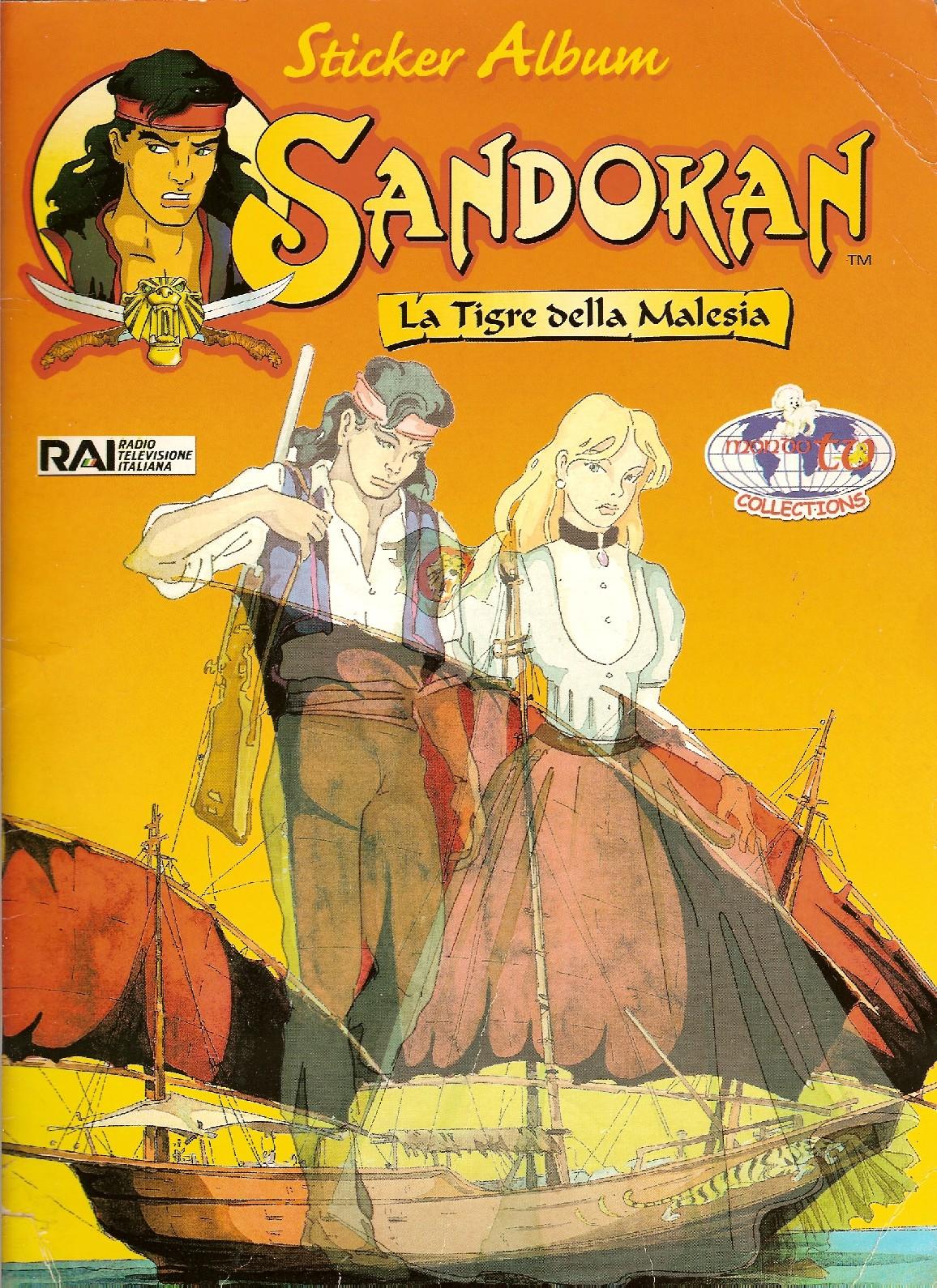 Sandokan la tigre della malesia ed mondo tv