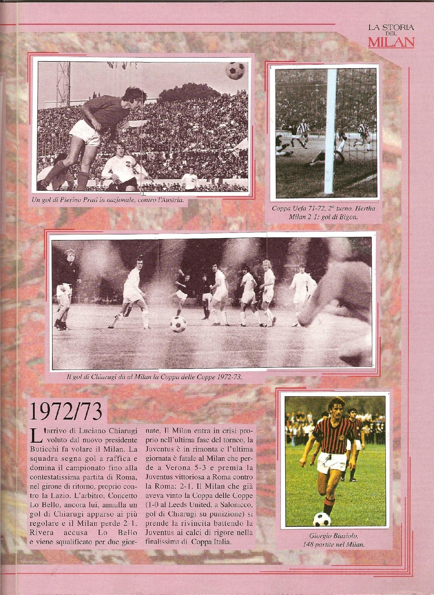 La storia del Milan - Masters 1992